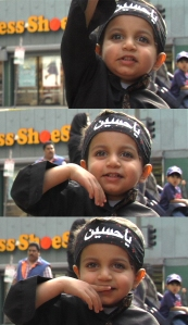 Little Boy Who Loves Hussain  photo credit: Justin Mashouf